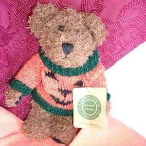 Boyds bear  collectible tag Halloween decoration